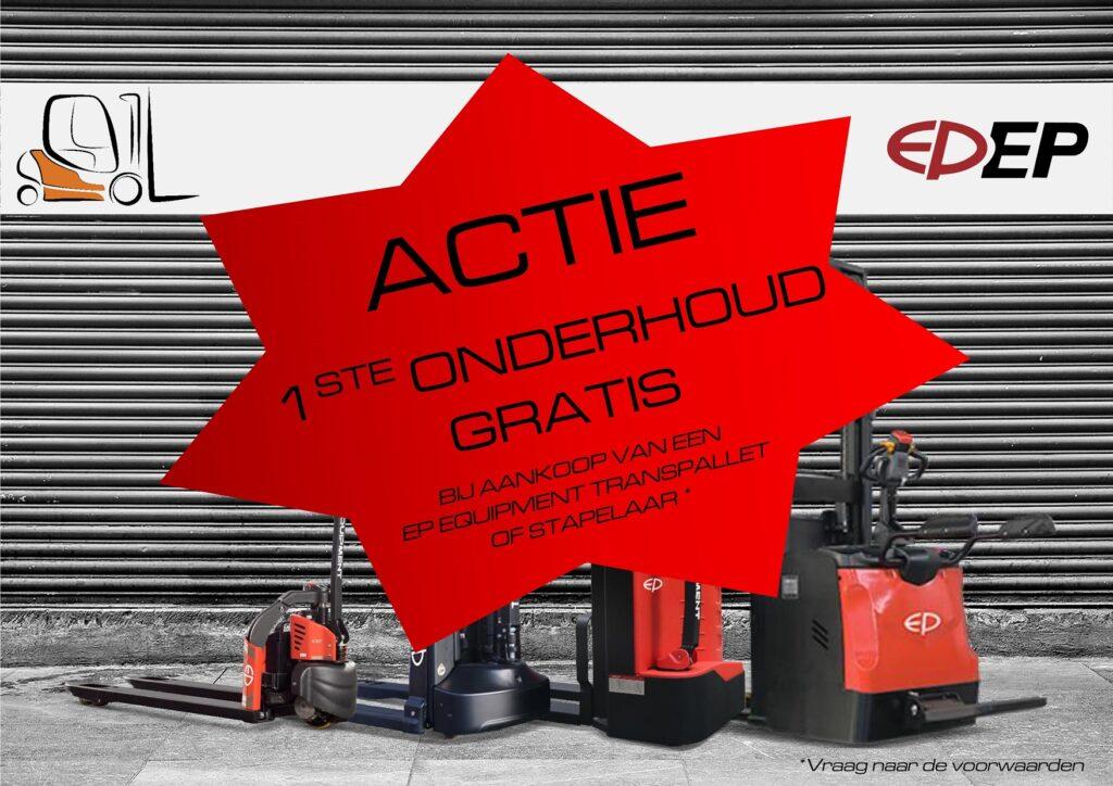 EP Equipment actie 2021